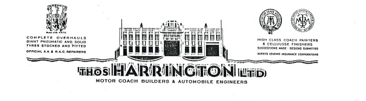0a Harrington 1939 letter heading